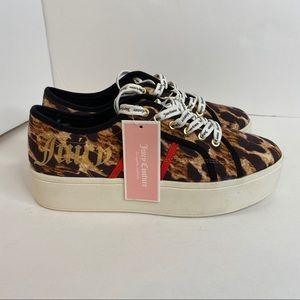Juicy Couture Leopard Platform Sneakers Funky